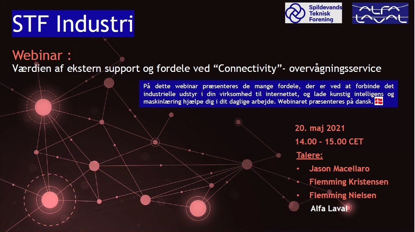 STF Industri - webinar om connectivity